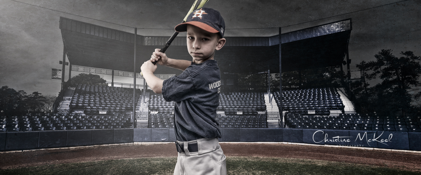 Baseball portrait